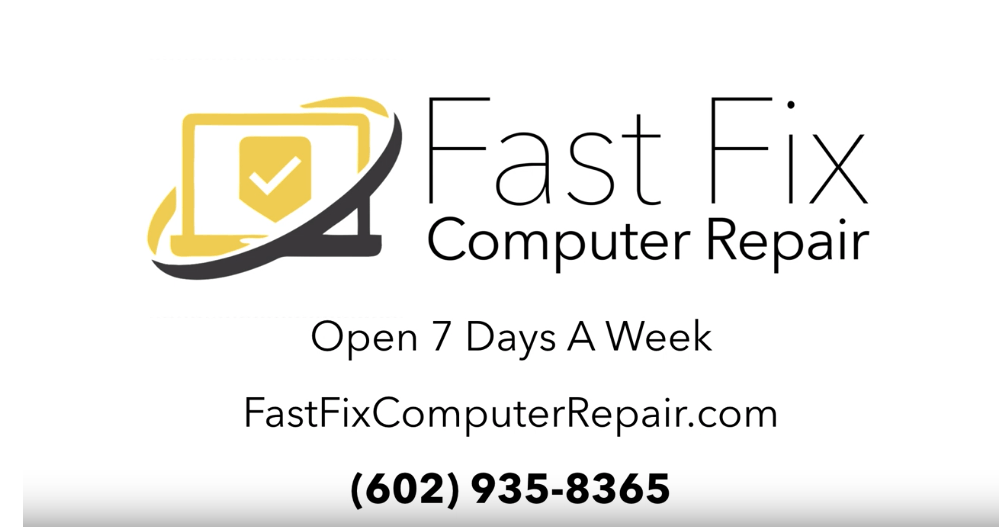 Fast Fix Computer Repair Video Thumbnail