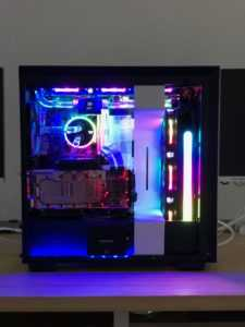 NZXT i7-9700K Gaming Build RGB