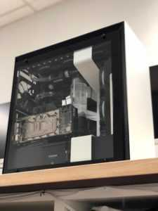 NZXT i7-9700K Gaming Build Front